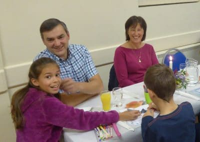Our harvest supper is enjoyed by families and people of all ages.