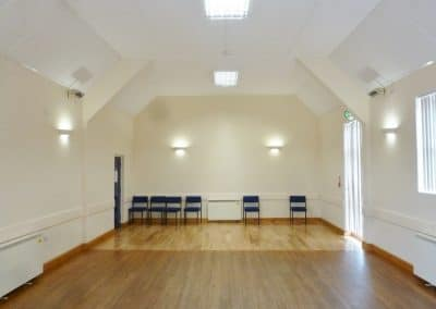 Ravensthorpe Village Hall is kept very clean and suits all types of events.