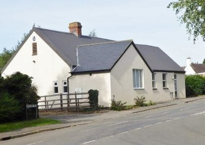 Ravensthorpe Village Hall from the north east.