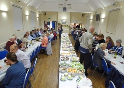 Ravensthorpe Village Hall harvest supper
