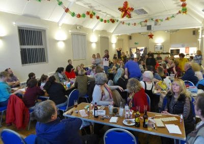 Villagers enjoyed a night of Bingo at Ravensthorpe Village Hall.